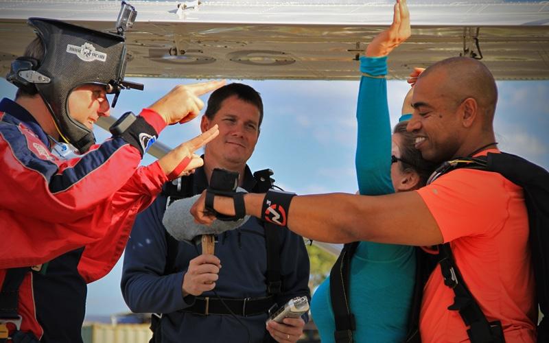 Skydive Recording Practise