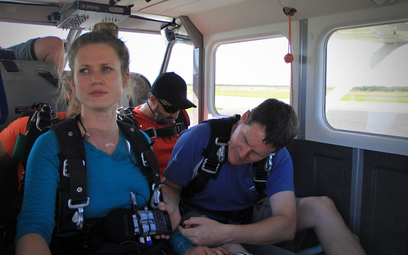 Skydive Recording